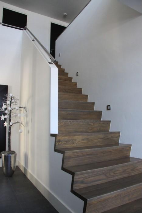 Projecten zelen bouwkundig ontwerp adviesbureau - Ontwerp betonnen trap ...