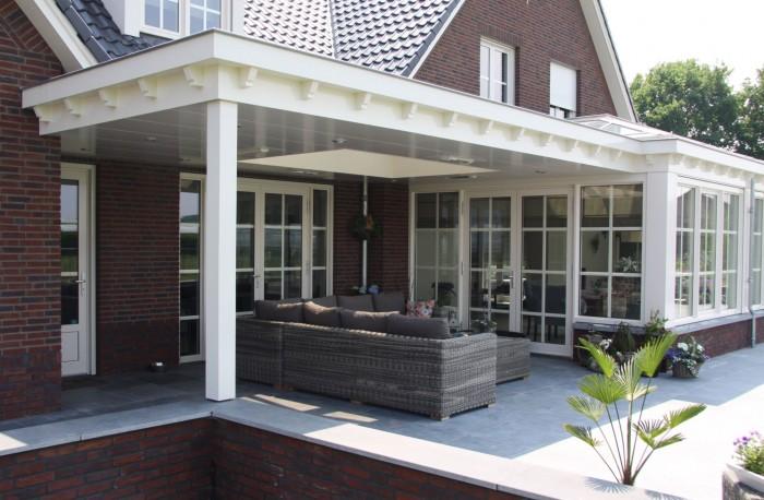 Projecten zelen bouwkundig ontwerp adviesbureau for Moderne aanbouw aan klassiek huis